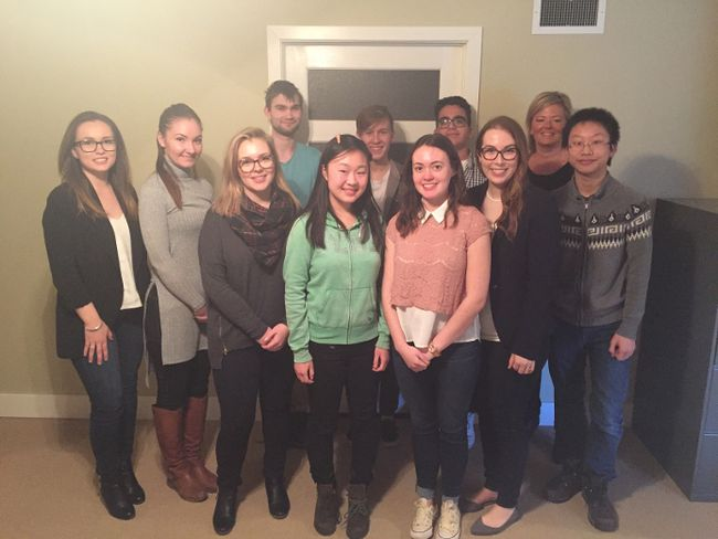 Submitted photo Local youth recently participated in a youth governance program. The aim is to show the youth how boards of governance operate in the not-for-profit sector and have them join various boards across the Quinte region.