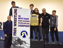 Bow Valley High School took home their first provincial 3A banner for wrestling at the Calgary championships.