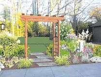 Landscape designers can help homeowners give their garden a facelift or replace a garden, inset, that's past its prime. Some designers use software to show homeowners what the new features and plants, above, will look like. (Special to The Free Press)