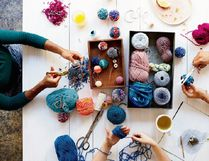 Learn how to make pom poms for home or party decor from Etsy.com's new sister site. Etsy Studio is set up for craft-sellers' intricate needs, such as managing inventory. (Photo: Etsy)