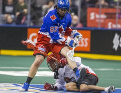 Toronto Rock defender Jordan Magnuson has been part of the club's strong defence this year. Ernest Doroszuk/Postmedia Network