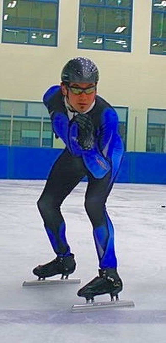 Special Olympics West Central's Evan James departed for Austria this week to compete in two speedskating events for Team Canada at the World Games. - File Photo