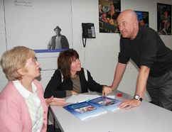 <p>Judy Ketchabaw; left and Tammy Moore; right, discuss the topic of aging parents with Bart Mindszenthy, co-author of the best-seller Parenting Your Parents: Support Strategies for Meeting the Challenge of Aging in the Family. Photo taken on Tuesday October 25, 2011 in Tillsonburg, Ont.</p><p> KRISTINE MACDOUGALL/TILLSONBURG NEWS/POSTMEDIA NETWORK