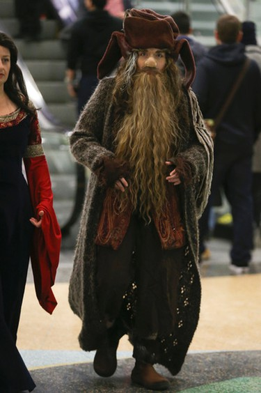 A wizard  at Toronto Comicon 2017 held at the Metro Toronto Convention Centre until Sunday on Saturday March 18, 2017. Jack Boland/Toronto Sun/Postmedia Network