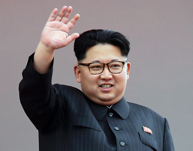 In this May 10, 2016, file photo, North Korean leader Kim Jong Un waves at parade participants at the Kim Il Sung Square in Pyongyang, North Korea. North Korea has conducted a ground test of a new type of high-thrust rocket engine that leader Kim Jong Un is calling a revolutionary breakthrough for the country's space program. (AP Photo/Wong Maye-E, File)