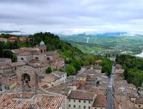 Verucchio is a beautiful, hilltop town with a castle in the Emilia-Romagna area of northern Italy. JIM BYERS PHOTO