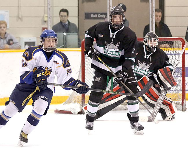 The Sherwood Park Kings' season ended in a 3-0 series sweep last week. Photo Courtesy Target Photography
