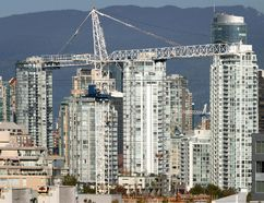 New highrise housing in the Yaletown area of Vancouver are pictured in this file photo. (File photo)