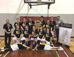 The Livingstone Sabres took home bronze from the 1A Boys Provincials held in Calgary, and the St. Michael's Dragons came in fourth! | Livingstone School photo/@LivSab_LRSD68