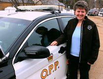 Sean Chase/Daily Observer Constable Beth Ethier recently retired from the Ontario Provincial Police after a 30-year career with the force. As community safety/mobilization officer, she worked with schools and volunteer organizations on such initiatives as Crimestoppers, Special Olympics, the Christmas Angel program and the Petawawa Bike Rodeo.