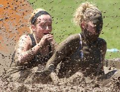 Participants wade through the mud at the 2016 Assante Dirty Dash for Rebound. Organizers of the annual Sarnia-Lambton Rebound fundraiser have opened registration up to 1,000 people this year -- up from 750 in 2016 -- to keep up with interest in the event. (Handout)