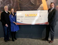 Dynamic Earth is supporting the Sudbury Area Mining Supply and Services Association (SAMSSA) for the next three years. Supplied photo