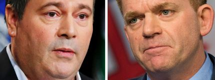 Brian Jean and Jason Kenney