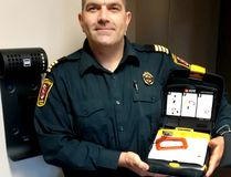 CKFES assistant chief Scott Ramey wants more citizens comfortable using life-savings devices.