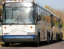 Cops were called after a man began acting erratically aboard a Greyhound bus. (Postmedia Network)