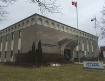 The Colin McGregor Justice Building on Catharine St. St. Thomas police will be moving from the building to their new headquarters near the Timken Centre this spring. (Jennifer Bieman/Times-Journal)