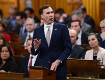 Minister of Finance Bill Morneau delivers the federal budget in the House of Commons on Parliament Hill in Ottawa, Wednesday March 22, 2017. THE CANADIAN PRESS/Sean Kilpatrick