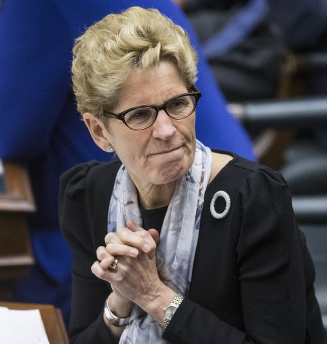 Premier Kathleen Wynne during question period at Queen's Park in Toronto on Monday, March 20, 2017. (Craig Robertson/Toronto Sun)