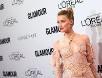Amber Heard attends 2016 Glamour Women Of The Year Awards in Hollywood, California, on November 14, 2016. / AFP / VALERIE MACON