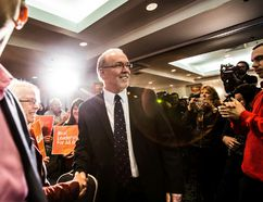 John Horgan is seen in a March 23, 2014 file photo. (Carmine Marinelli/Vancouver 24hours File Poto)
