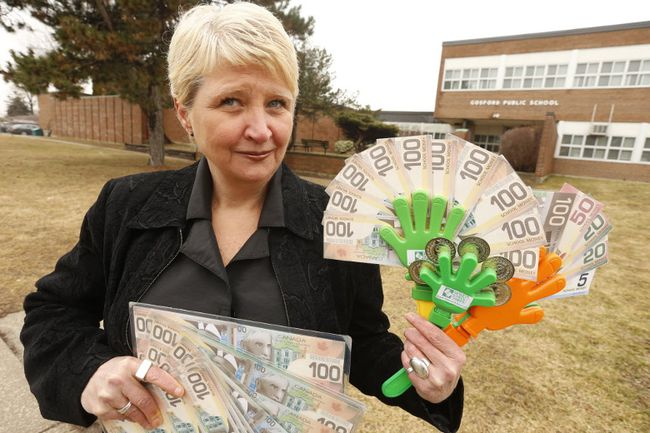 Tricia Barry is the executive director of  Money School Canada. (JACK BOLAND, Toronto Sun)