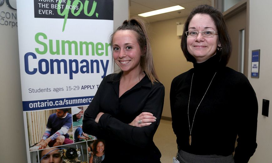 Students can source funding for summer company