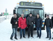 Peter Lozinski / Cold Lake Sun Cold Lake will be replacing their core fleet of buses with a more environmentally friendly alternative in the coming year.