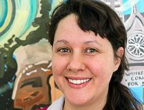 Jessie Buchanan, originally from southern Ontario and a Aamjiwnaang First Nation member, attended Algoma University from 2006 to 2010, during which time she earned a bachelor of fine arts.