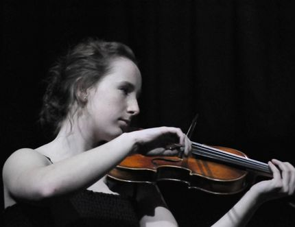 Lauren Soucy sets the mood with her performance of Boy Paganini during the 2017 Nipawin Music Festival final concert on March 28.