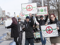 Budtenders protest