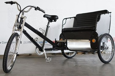Banff council is considering allowing pedicabs on the streets in the town during the busy 2017 summer season. (Town of Banff)