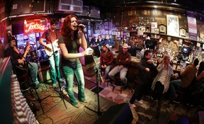 Tootsie's Orchid Lounge is one of the honky tonks within walking distance of the Nashville Predators' home rink. (MARK HUMPHREY/AP file photo)