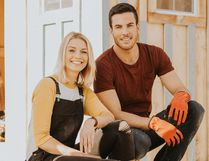 Hosts of the new HGTV series Backyard Builds Sarah Keenleyside and Cornwallite Brian McCourt, in a Katherine Holland photo provided by HGTV. The new show airs Thursday, April 6. Handout/Cornwall Standard-Freeholder/Postmedia Network