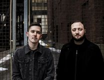 """<p>Double Experience, photographed here by Ryan Stacey, will be at the Cornwall & Area Pop Event after party on April 22 at the Agora Centre. The band, Brock Tinsley and Ian Nichols, specialize in """"nerd rock"""" music. </p><P> Handout/Cornwall Standard-Freeholder/Postmedia Network"""