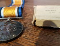 "KEVIN RUSHWORTH HIGH RIVER TIMES/POSTMEDIA NETWORK. As pictured above, the Museum of the Highwood showcases a medal belonging to fallen High River soldier E.N. ""Jay"" Sheppard, who passed away on April 9, 1917 during the first day of the pivotal battle."