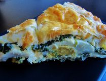 Torta Pasqualina, a traditional Italian spinach, egg and cheese pie. (Supplied photo)