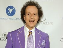 In this Aug. 10, 2013 file photo, fitness guru Richard Simmons arrives at the Project Angel Food's 2013 Angel Awards in Los Angeles. License Global reported on April 5, 2017, that Simmons has signed a new licensing deal. (Photo by Richard Shotwell/Invision/AP, File)