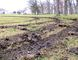 Vehicle tracks vandals left in the field at Sarnia's Canatara Park are shown in April. Paul Morden/Sarnia Observer/Postmedia Network