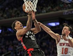 Raptors star DeMar DeRozan says he had plenty of rest when he missed seven games with an injury in late January and early February. (AP)