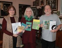 Local poets Debbie Okun Hill, Norma West Linder and James Deahl will be reading selections of their own poems during Sarnia-Lambton's celebration of National Poetry Month, which takes place at John's Restaurant on Tuesday, April 18th. CARL HNATYSHYN/SARNIA THIS WEEK