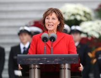Premier of British Columbia Christy Clark. (Chris Jackson/Getty Images/Files)
