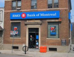Notice has been posted at the Bank of Montreal in Waterford that the branch will close Oct. 20. The Bank of Montreal has had a presence in Waterford for 114 years. MONTE SONNENBERG / SIMCOE REFORMER
