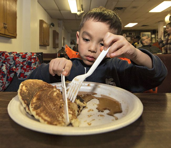 Might want to thnk twice about eating those pancakes for breakfast.