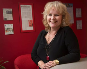 Masha Krupp of Masha Krupp Translation Group in a photo taken in 2015. Her company has successfully appealed the decision by Canada Revenue Agency last year to award a $4 million-a-year translation contract to a rival firm.