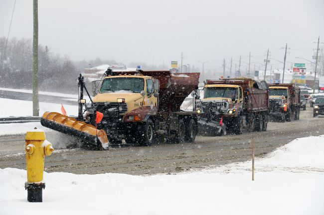 "The high price of contracting out winter snow maintenance on the city's East End rural roads has prompted public works to ask city council to consider buying a new plow truck and hiring a new employee so the work could be done ""in-house"". It could mean a savings of $60,000 per year. Council has not yet decided on what to do."
