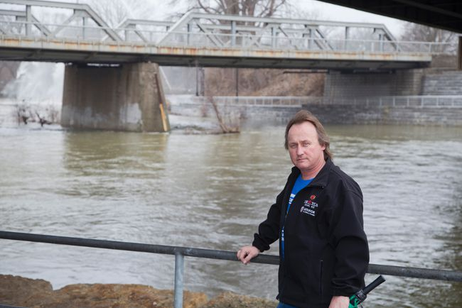 Todd Sleeper, organizer of the Thames River Cleanup (Free Press file photo)