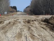 A section of Tobin Lake Highway has been attended to since Sunday when it was impassable. HWY 255 is still in the top for CAA's worst roads in Saskatchewan.