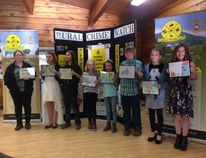 Leduc Rural Crime Watch Association held its annual Annual General Meeting at Telford House in Leduc on Tuesday, April 11. The members handed out their annual prizes for their colouring contest, which asked students from Leduc and area to submit their best drawings. There were winners from Grades 4-6. For Grade 4 from Linsford Park Elementary School, first place ($25) went to Emma Burak, second ($15) went to Emilee Parr, and third ($10) to Maycee Siemens. For Grade 5, the winners were also from Linsford. Kiev Friesen received first ($25), Hunter Keating second ($15), and Brooke Turville third ($10). For the Grade 6 students, first ($25) went to Kenya Davies and second ($15) to Jocelynn Matheson, both from Calmar Elementary. Third ($10) went to Sara Kellich from Linsford.