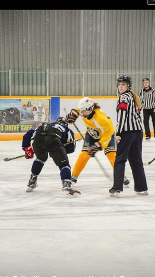 Hayleigh Dansereau who is both an elite hockey player and Level 2 referee has earned the inaugural Alberta Female Hockey League scholarship. She is well respected as an athlete and an official, which earned her the opportunity to referee at the 2016 Alberta Winter Games in Medicine Hat.