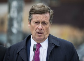 In a unanimous vote, Mayor John Tory's executive committee approved a proposal to seek changes in provincial laws that will allow drug dealers or gang bangers who have taken up residence in a TCHC building to be evicted or removed for cause. (ERNEST DOROSZUK/TORONTO SUN)
